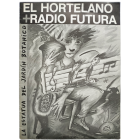 """El Hortelano + Radio Futura. """"La Estatua del Jardín Botánico"""""""