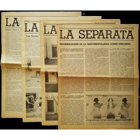 La Separata. Santiago, Chile, Nos. 1 al 4, 16 de abril de 1981 a 13 de agosto de 1982
