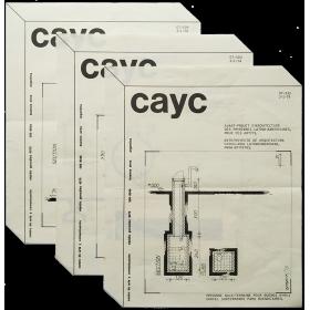 Zabala - Anteproyecto de arquitectura carcelaria latinoamericana, para artistas. CAyC, Buenos Aires, 1974