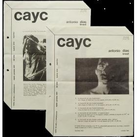 """Antonio Dias, Brasil - """"La ilustración del arte"""" (3 films). CAyC Centro de Arte y Comunicación, Buenos Aires, noviembre 1973"""
