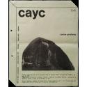 Carlos Ginzburg - Piedra. CAyC Centro de Arte y Comunicación, Buenos Aires, 1973