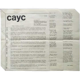 Introduction to ART SYSTEMS in Latin America. Internationaal Cultureel Centrum, Antwerpen, Belgium, April-May 1974