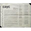 Introduction to ART SYSTEMS in Latin America. Internationaal Cultureel Centrum, Antwerpen, Belgium, April-May 1974