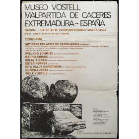 DACOM Día de Arte Contemporáneo Malpartida, 27-8-83. Museo Vostell Malpartida de Cáceres, Extremadura-España