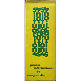 Poesía internacional de vanguardia. Galería Danae, del 14 de marzo al 3 de abril, 1970