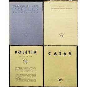 Tocador de Arte. Papeles invertidos / Cajas / Boletín del Tocador de Arte / Juan Hidalgo en un concierto zaj