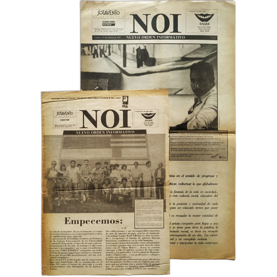 NOI Nuevo Orden Informativo. Nos. 1 y 2. Caracas, 17 de Febrero de 1991 y  Septiembre de 1991