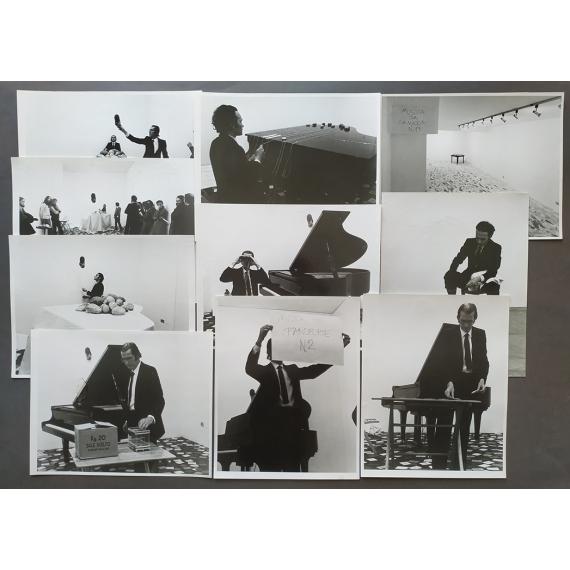 Grupo Zaj. Galleria Multhipla, Milano, 1974-1975