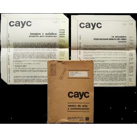 Imagen y palabra / VII Encuentro Internacional abierto de Video, Barcelona. CAyC, 1977