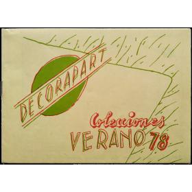 """Decorapart - Colecciones Verano 78: Vinçon en DETRÁS presenta """"Decorapart"""", un montaje de Mariscal"""