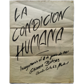 [Herminio] Molero - La condición humana. Galería Buades, Madrid, junio de 1981