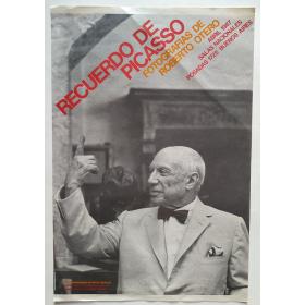 Recuerdo de Picasso. Fotografías de Roberto Otero. Salas Nacionales, Buenos Aires, abril 1987