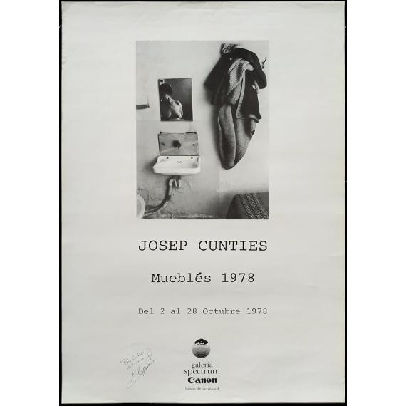Josep Cuntíes - Mueblés 1978. Galería Spectrum, Barcelona, del 2 al 28 Octubre 1978