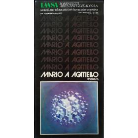 Mario Agatiello - Pinturas. LAASA, Buenos Aires, del 16 de abril al 3 de mayo de 1977