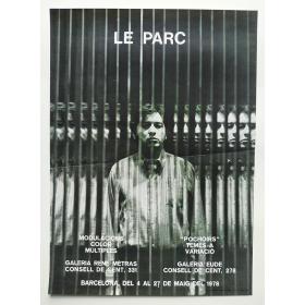 """LE PARC. Modulacions Color Múltiples - """"Pochoirs"""" Temes a Variació. Galería René Metras - Galería Eude, Barcelona, maig 1978"""