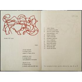 Exposición de pinturas de magó [Mathias Goeritz]. Galería-Librería Clan, Madrid, del 1 al 15 de Junio de 1946