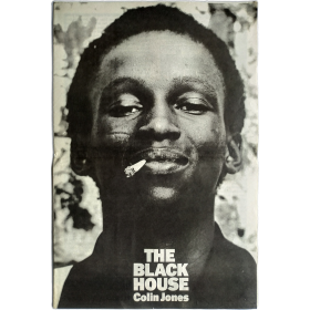 """The Black House"", an exhibition of photographs by Colin Jones. The Photographers' Gallery, London, May 4th to June 4th, 1977"