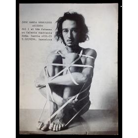 José María Berenguer - Abierto. Galería Aquitania, Barcelona, del 1 al 6 de Febrero