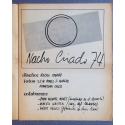 Nacho Criado 74. Galería Buades, Madrid, 1974