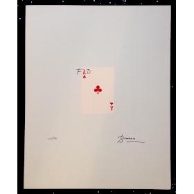Serigrafía original de Joan Brossa