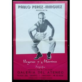 """Pablo Pérez-Mínguez presenta """"Vírgenes y Mártires, Fotografías"""""""