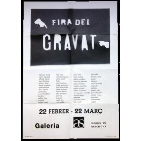 Fira del gravat. Galería as, Barcelona, 22 febrer - 22 març