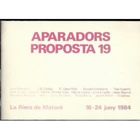 APARADORS - PROPOSTA 19. La Riera de Mataró, 16-24 juny 1984