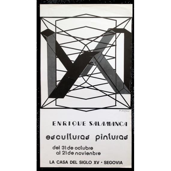 Enrique Salamanca. Esculturas - Pinturas. La Casa del Siglo XV, Segovia, del 31 de octubre al 21 de noviembre, [1981]
