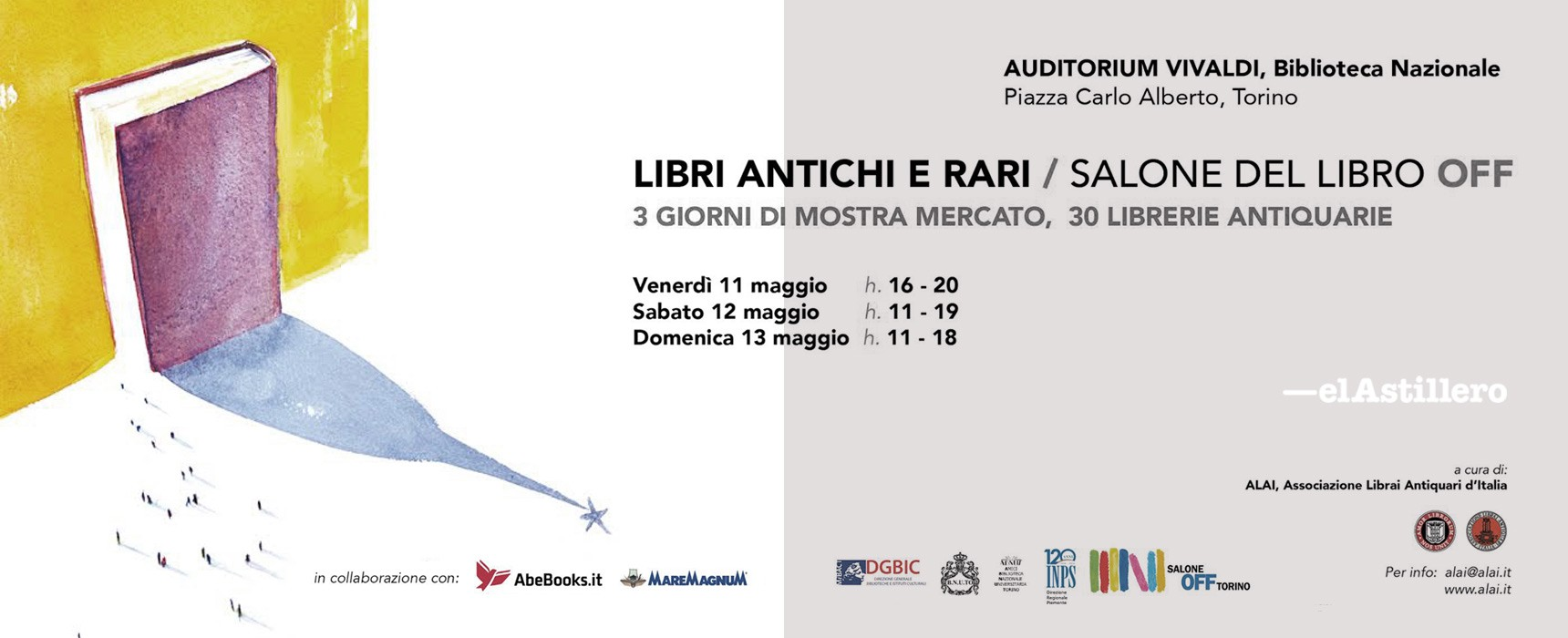 Feria del Libro en Torino