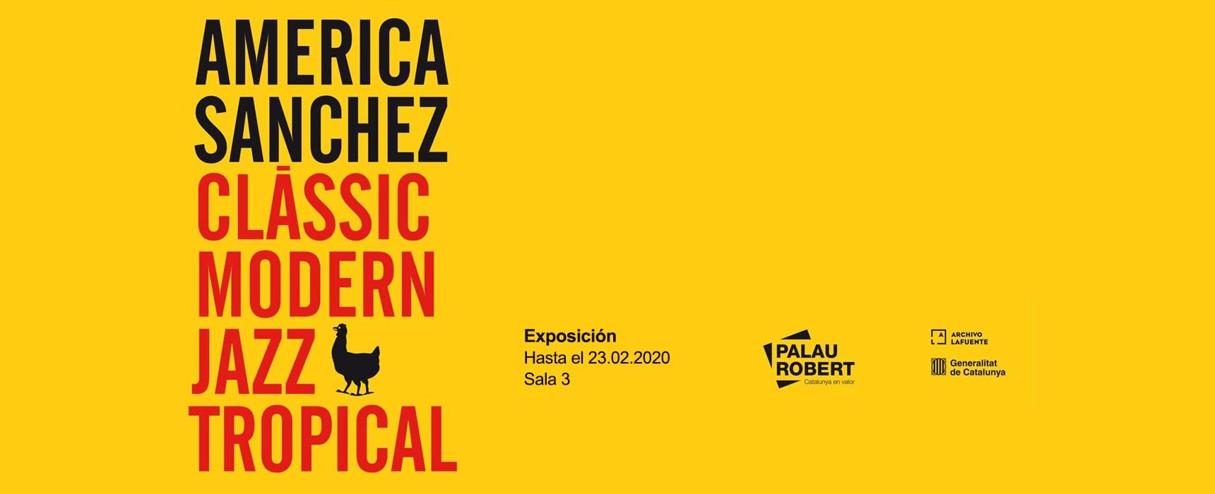 América Sánchez - Exposición Palau Robert