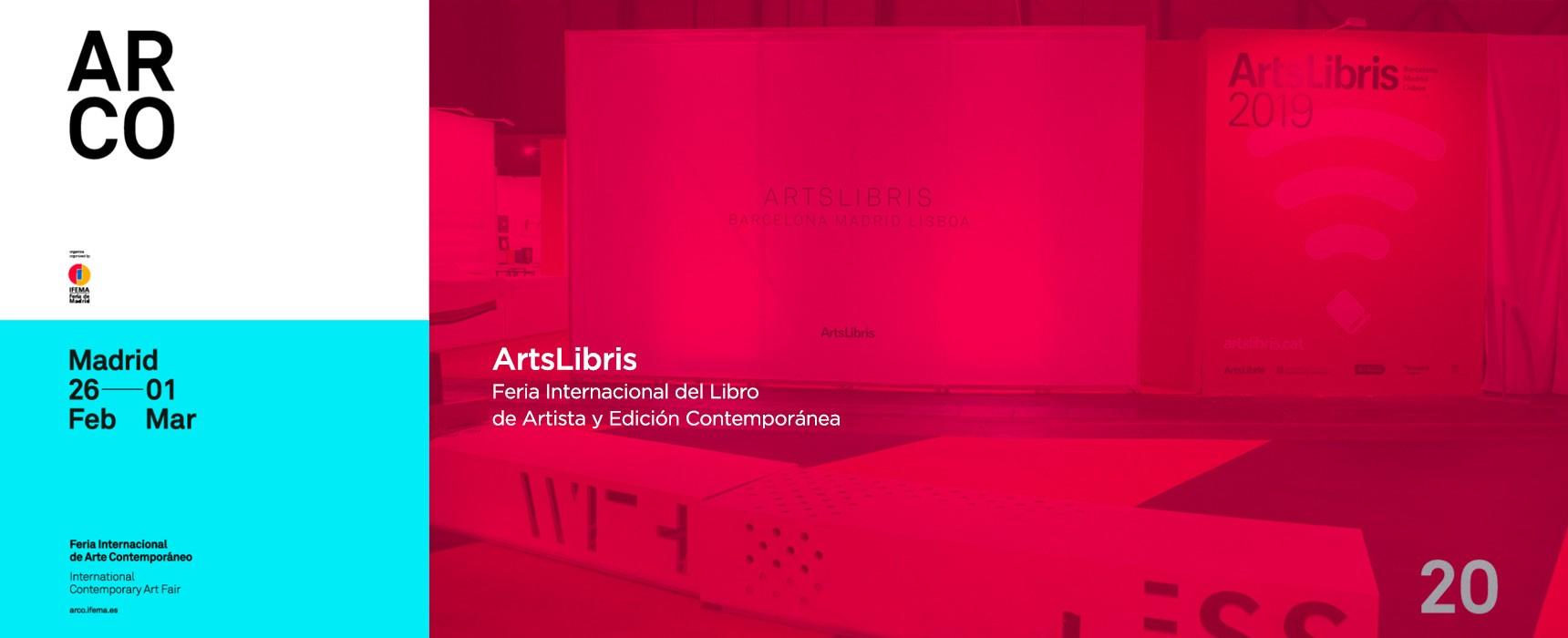 ArtsLibris 2020 ARCO Madrid