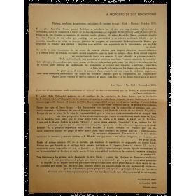 A propósito de dos exposiciones - Movimiento Madí, Buenos Aires, noviembre 1955