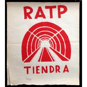 RATP  tiendra. Ecole Nle. Supérieure des Beaux-Arts