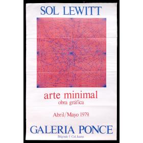 Sol Lewitt. Arte minimal. Obra gráfica. Galería Ponce, [México], abril-mayo 1979