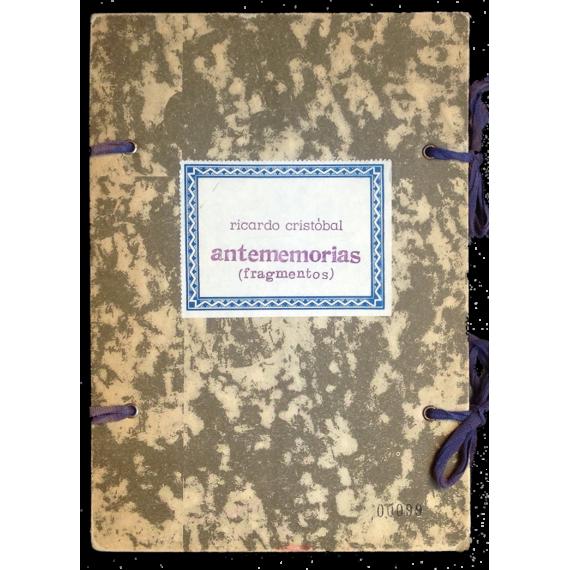 Antememorias (fragmentos)