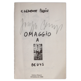 Omaggio a Beuys