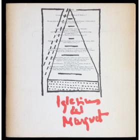 Iglesias del Marquet. Poemografies. Exposició homenatge. Sala Lleida de Caixa Barcelona, Maig-Juny 1989
