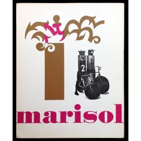 Marisol. Museum Boymans-Van Beuningen, Rotterdam, 16 november - 15 december 1968