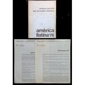 Amèrica Llatina'76. 59 Artistas Latinoamericanos. Fundació Joan Miró, Barcelona, 22 febrer-27 març 1977