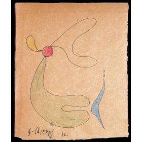 Dibujos originales Jorge Cáceres (1942)