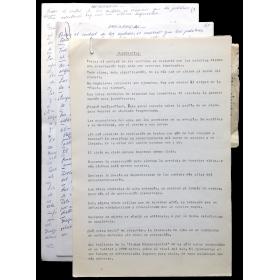 Madigrafías - Manuscrito Gyula Kosice