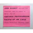 Pequeño conjunto documental Juan Downey