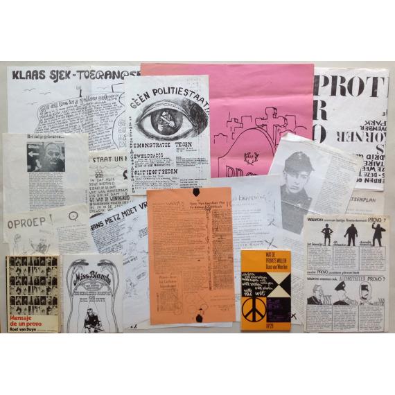 Conjunto documental Movimiento Provo (Amsterdam 1965-1968)