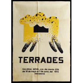 Terrades. Galería Nova, Barcelona, del 16 de mayo al 7 de junio, del 1972