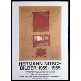 Hermann Nitsch. Bilder 1959-1965. Galerie Fred Jahn, München, Dezember 1982 - Januar 1983