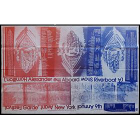 9th Annual New York Avant Garde Festival. South Street Seaport Museum, New York City, October 1972