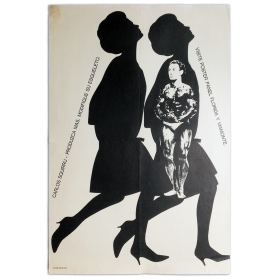 Carlos Squirru - Produzca más, modifique su esqueleto. Visite Poster Panel Florida y Viamonte, [Buenos Aires], 1965