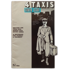 4 taxis. Cover Issue. Nº 5. Ete 1980