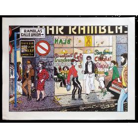 Ramblas - Nazario 1980