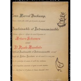 Il reale assoluto illustrato da Marcel Duchamp e Man Ray